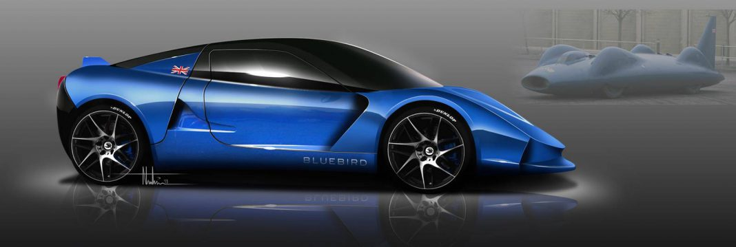 Bluebird DC50 Electric Sports car Delayed Until 2014