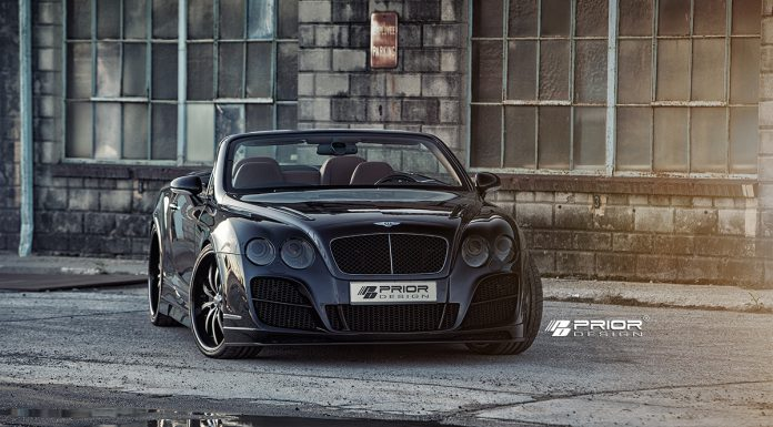 Prior Design Bentley Continental GT PD Aerodynamic Kit Stuns in the Sun