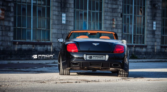 Prior Design Bentley Continental GT PD Aerodynamic Kit Stuns in the Sun