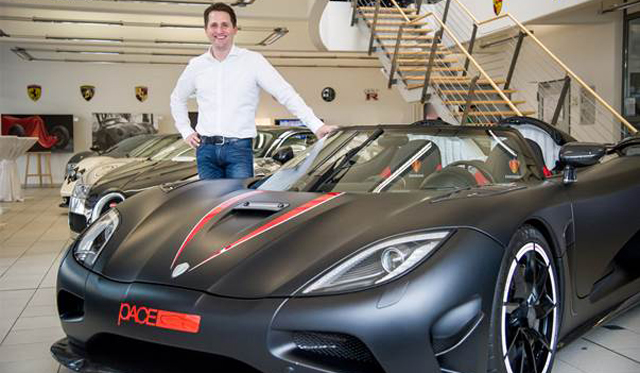 Pace Germany Appointed Koenigsegg's German Distributor