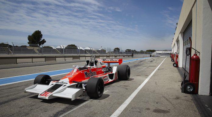 James Hunt's McLaren M26 F1 Hitting the Auction Blocks