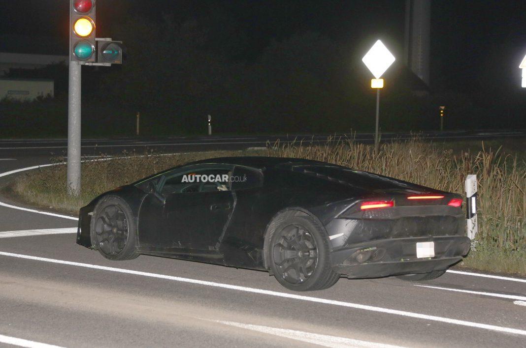 2015 Lamborghini Cabrera Spotted Driving