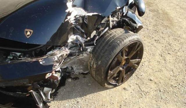 Another Chinese Lamborghini Gallardo Destroyed