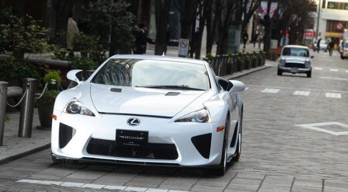 Artisan Spirit Debuting Lexus LFA Bodykit at SEMA