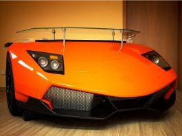 Can't Afford a Real Lamborghini Murcielago? Buy This Desk