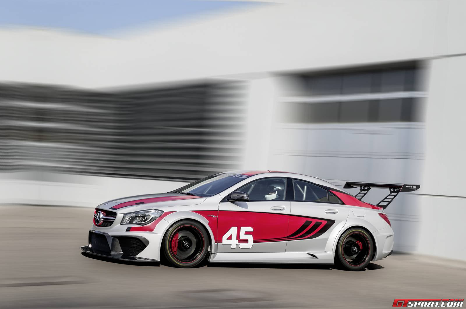 Official Mercedes Benz Cla 45 Amg Racing Series Concept