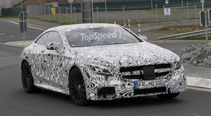 Mercedes-Benz S63 AMG Coupe Snapped