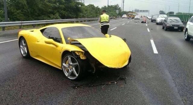 iPE Exhaust Boss Crashes His Ferrari 458 Italia