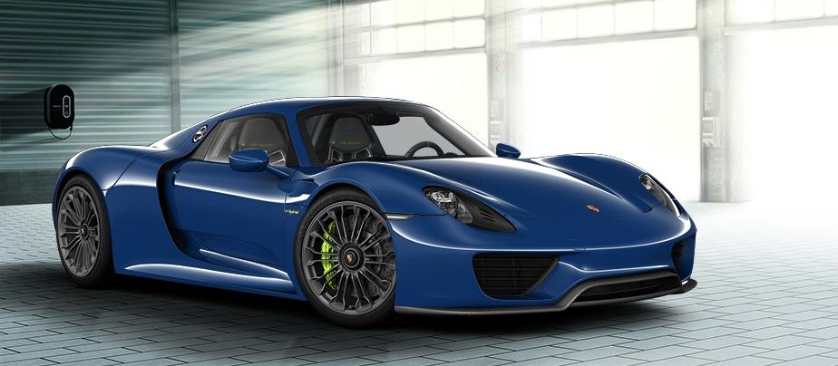 Make Your Dream Porsche 918 Spyder With Online Configurator