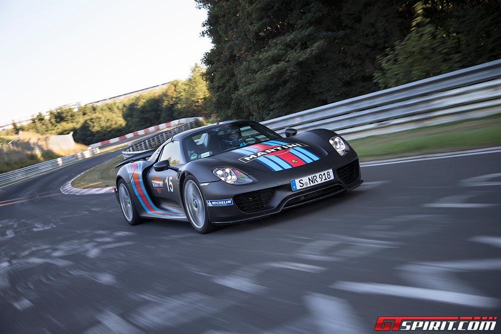 Porsche 918 Spyder Laps Nurburgring in 6:57!