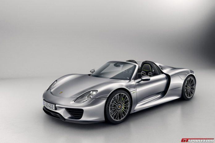 Finally! Porsche 918 Spyder Production Begins