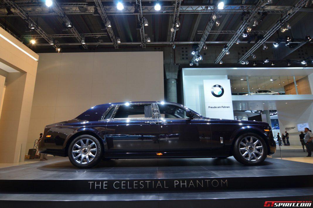 Rolls Royce Celestial Phantom Concept