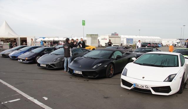 Gallery: Supercars visit Blancpain Endurance Series at Nurburgring