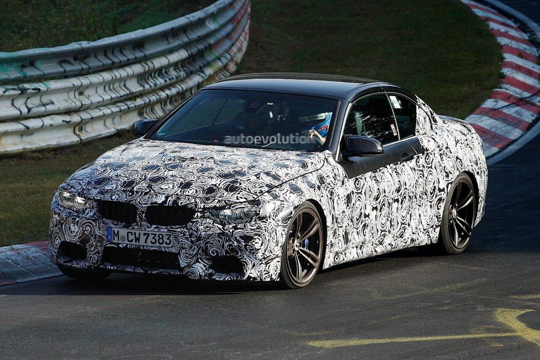 Nurburgring Hosts BMW M4 Convertible Testing
