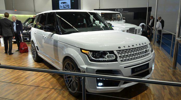 Startech Range Rover at Frankfurt