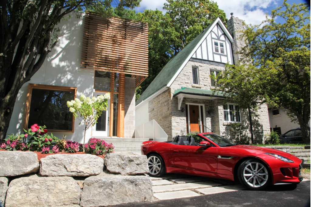 Buy This Canadian House and get a Free Jaguar F-Type