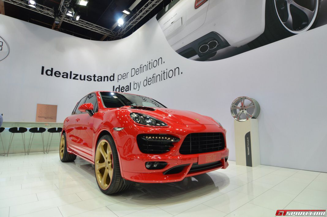 Frankfurt 2013: TechArt Magnum Gold Edition for China