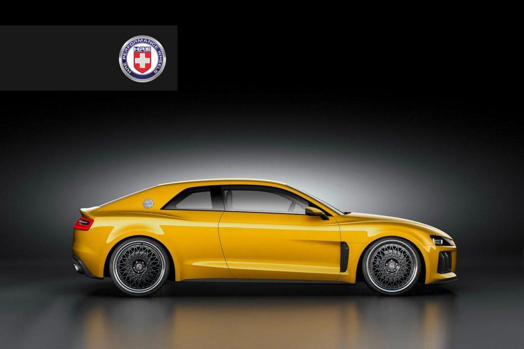 Audi Sport Quattro Rolls on HRE Wheels
