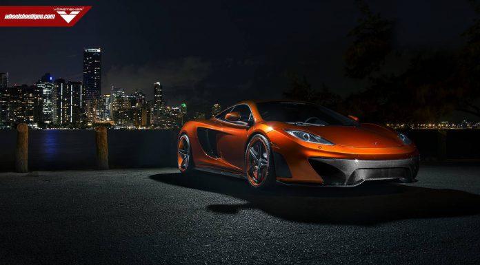 McLaren MP4-VX by Vorsteiner at Night