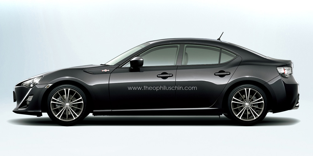 How a Toyota GT86 Will Look