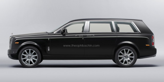 Rolls-Royce SUV Receives Simple Render