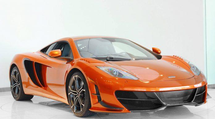 Orange McLaren 12C High Sport Looks Stunning