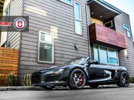 Black on Black Audi R8 Spyder by TAG Motorsports
