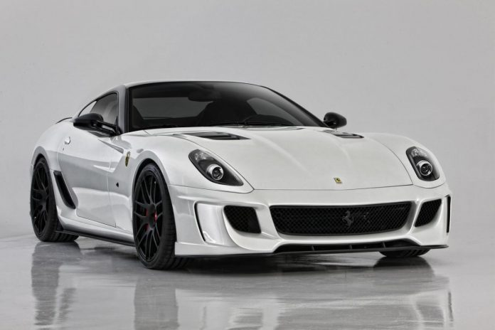 Ferrari 599VX by Vorsteiner in White