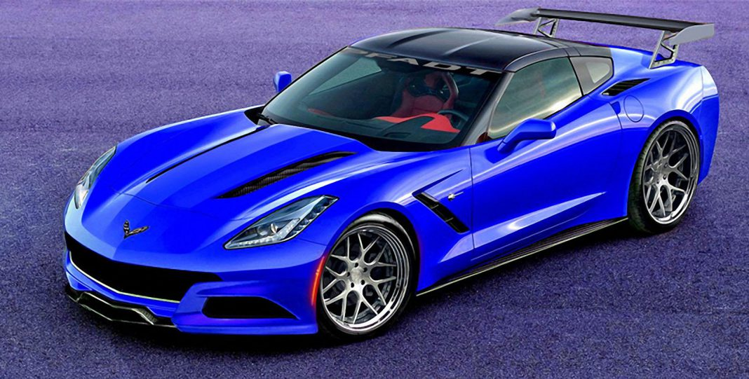 Aggressive 2014 Chevrolet Corvette P58 Concept Stingray From TZD Coming to SEMA