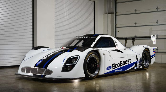 Official: Ford EcoBoost Prototype for 2014 TUDOR United SportsCar Championship Series