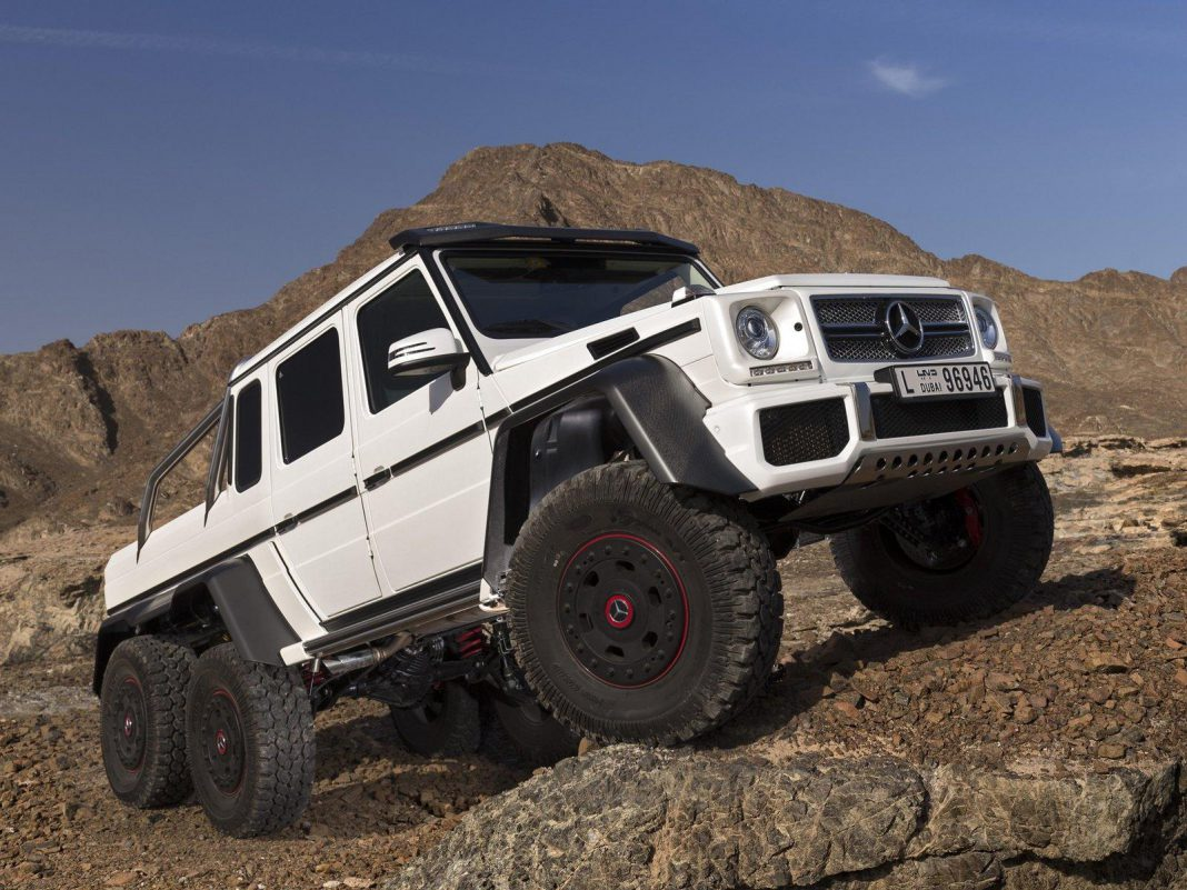 Armoured Mercedes-Benz G63 AMG 6x6 to Cost $1.3 Million