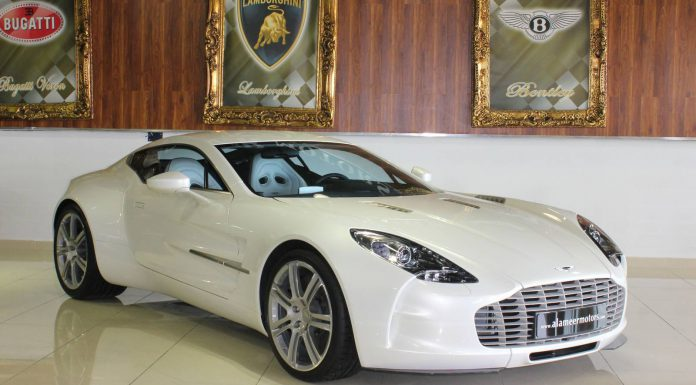 Want a Brand New Aston Martin One-77? This Is It!