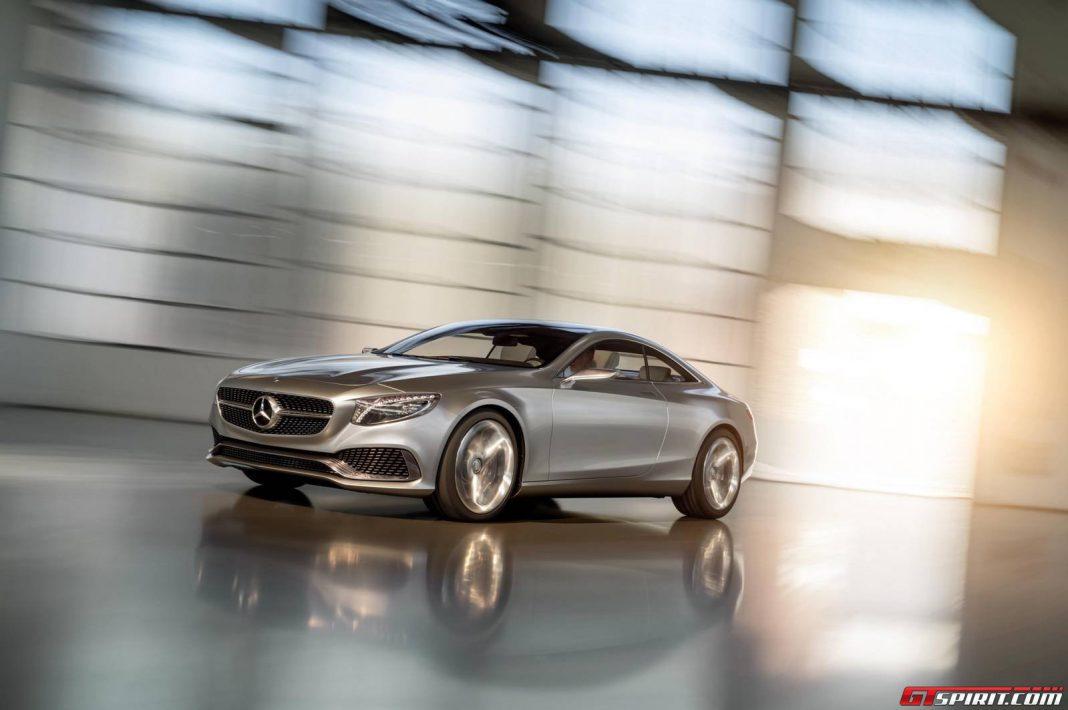 Mercedes-Benz S-Class Coupe Concept Close to Production-Spec
