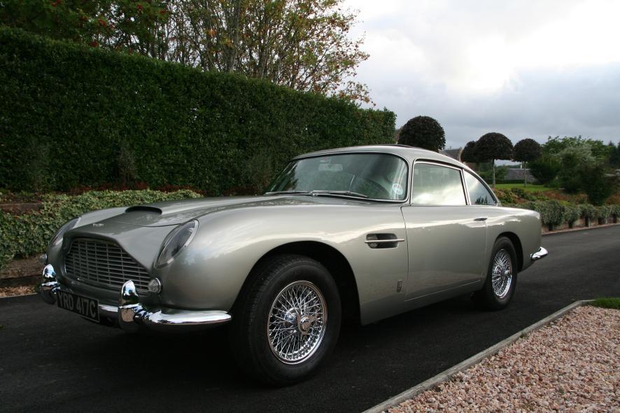 Silver Birch 1965 Aston Martin Db5 Headed To Silverstone Auctions Gtspirit