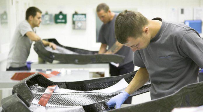 Prodrive's $24 Million Carbon Fiber Order was for McLaren P1