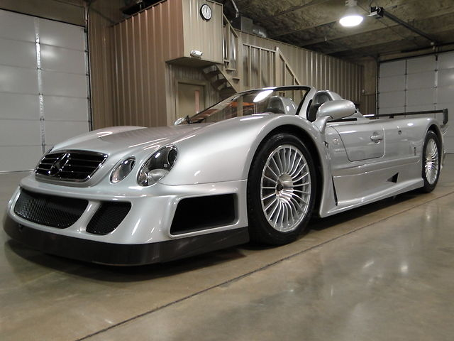 2002 Mercedes-Benz CLK GTR Roadster to be Auctioned Again