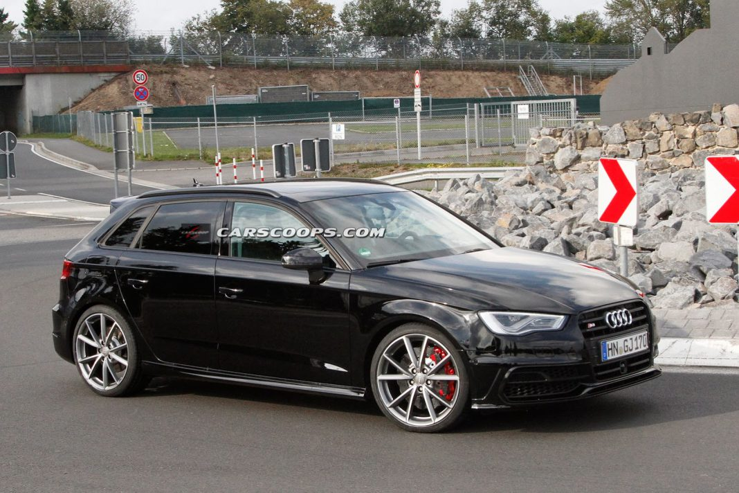 Is This The New Audi RS3 Sportback?