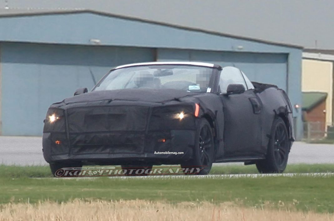 2015 Ford Mustang Convertible Surfaces