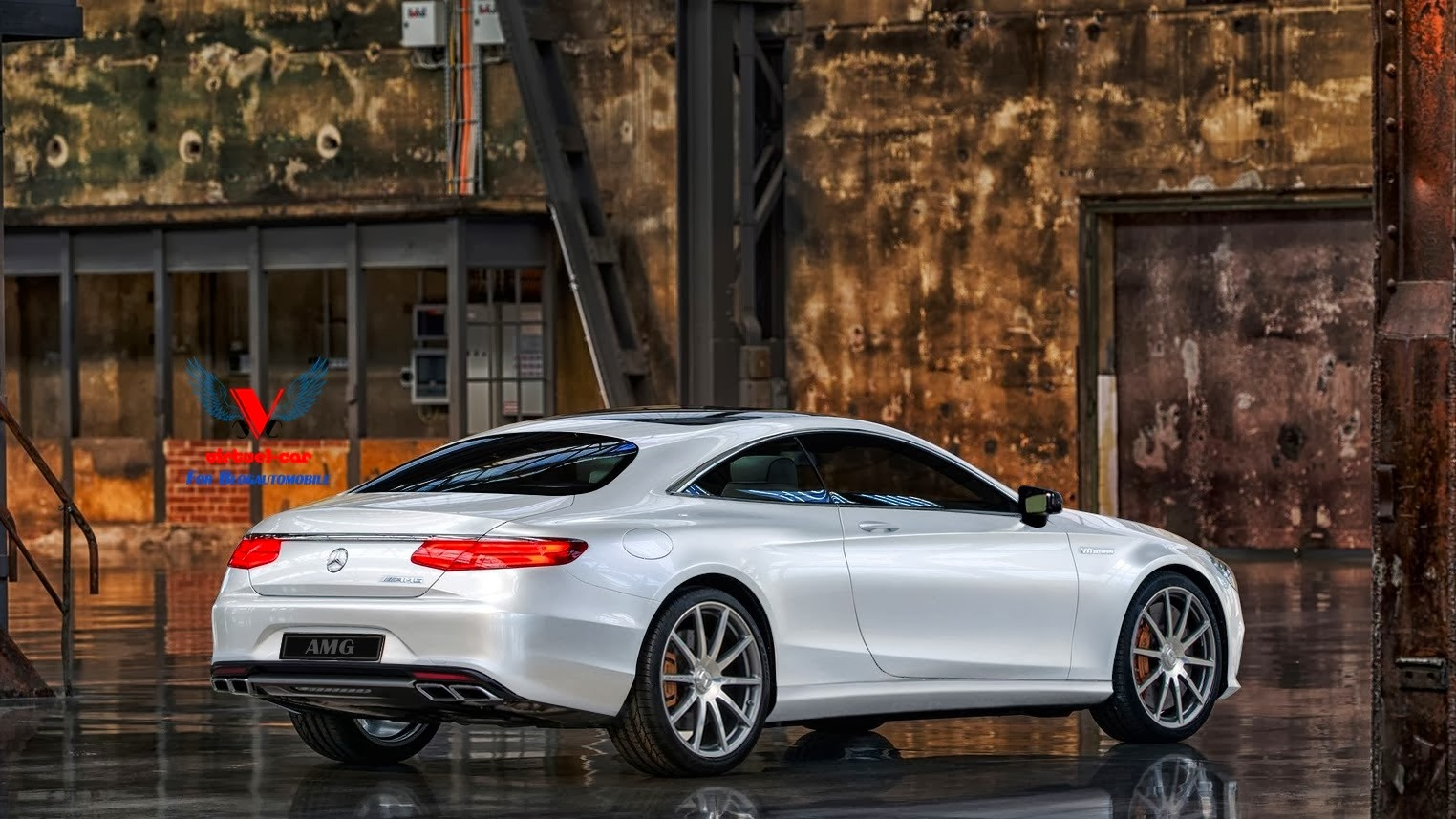2015 MercedesBenz S63 AMG Coupe Comes to Virtual Life  GTspirit