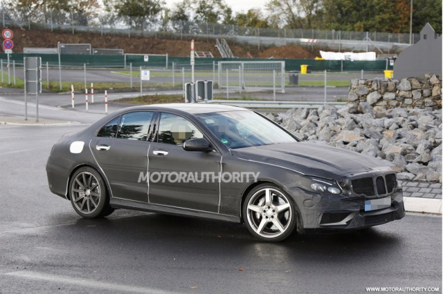 2015 Mercedes-Benz C63 AMG Spied Near the Nurburgring