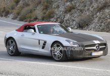 2015 Mercedes-Benz SLS AMG Roadster Facelift Spotted