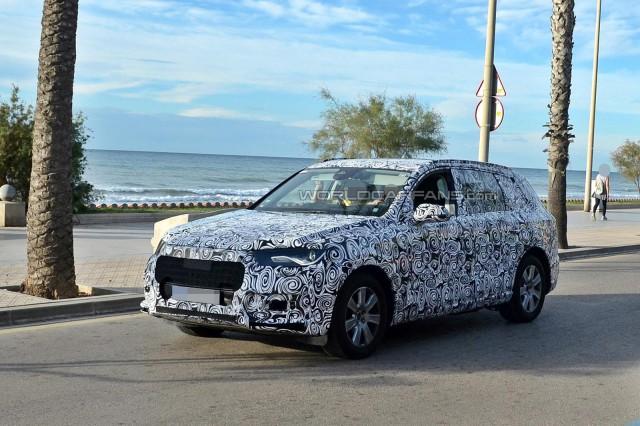 Audi's Next-Gen Q7 SUV Surfaces