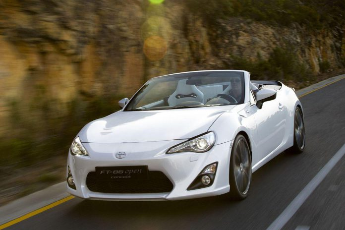 Toyota GT86 Convertible on Indefinite Hold