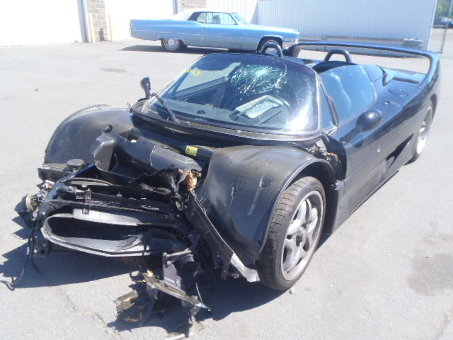 Wrecked Black Ferrari F50 For Sale In Connecticut Gtspirit