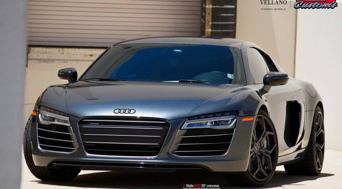 Audi R8 With Vellano Wheels Looks Slick