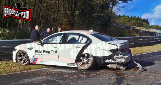 BMW M5 Crash