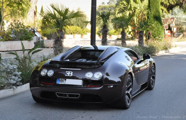 brown carbon bugatti veyron gs vitesse in monaco gtspirit. Black Bedroom Furniture Sets. Home Design Ideas