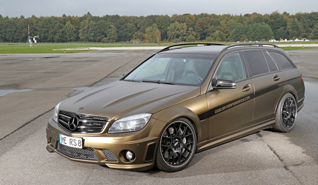 Official: Matt Gold Mercedes-Benz C63 AMG by SR-Performance