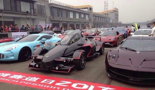 CQSCC Supercar Trophy Passion Day 2013