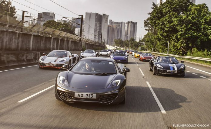 Photo Of The Day: McLaren's 50th Celebrations in Hong Kong